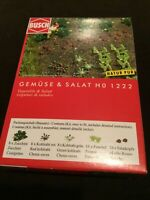 Busch HO Scale VEGETABLES & LETTUCE Kit #1222 New in Box!