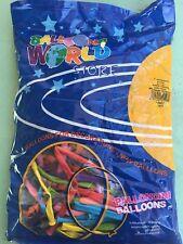 palloncini modellabili 1000 multicolore 10 buste gonfia fino a 1,35 metri