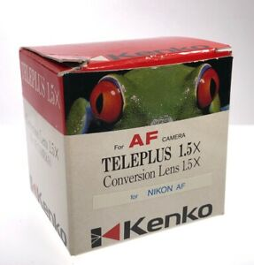 Kenko N-AFD 1.5X TELEPLUS SHQ Teleconverter for Nikon F Mount (New)