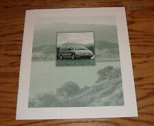 Original 1996 Oldsmobile Silhouette Deluxe Sales Brochure 96