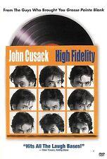 High Fidelity ~ John Cusack Jack Black Lisa Bonet ~ Dvd Ws ~ Free Shipping Usa