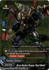 "Buddyfight 1x PP01/0059EN Drum Bunker Dragon, ""Dual Wield"" RR"