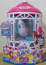 Little Live Pets Birds Series 7 ~ Bird Cage & Secret Angie ~ Secret Song Birds