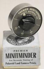 Premier MinitMinder Timer for Polaroid Land Camera Prints w/ Box