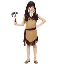 Childrens Indian Girl Fancy Dress Pocahontas Costume Outfit 158Cm 11-13 Yrs