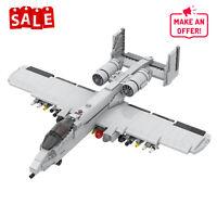 MOC-12091 The Fairchild Republic A-10 Thunderbolt II Aircraft Toys Sets 1211 PCS