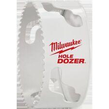 "NEW MILWAUKEE 49-56-9645 HOLE DOZIER 4"" BI METAL HOLE SAW HEAVY DUTY SALE"