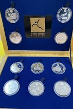 moneta argento 925 Finlandia 10 Euro 1997 FAI Federazione Areonautica Tot. 270 g