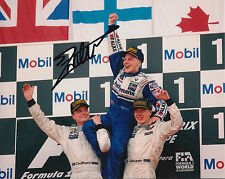 Jacques Villeneuve Hand Signed Williams Formula 1 10x8 Photo 1.