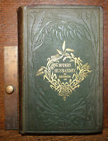 1853 Modern Husbandry A Practical and Scientific Treatise on Agriculture Andrews