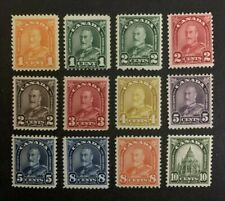 Canada Stamps #162-173 MH