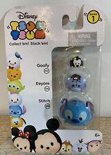 Disney Tsum Tsum 3 pack Series 1 Stitch Eeyore Goofy #79