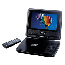 Craig CTFT716 7-Inch Portable DVD/CD Player With Remote Black New other