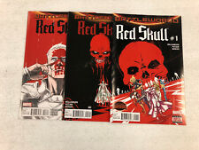 Red Skull #1 #2 #3  - Comic Book Lot - Visit My Store