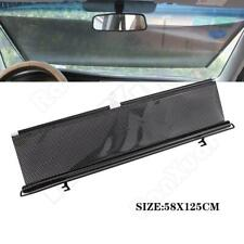 Car Truck Window Windshield Roller Blind Sun Shade Visor Cover Rear Retractable