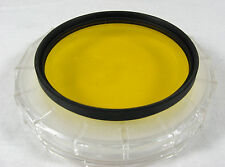 72mm Y2 Yellow Filter Access SLR Camera Lens Photography Effects Accessories