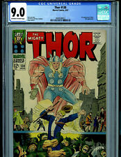 Thor #138 CGC 9.0 1967 Silver Age Marvel Comics  1st Ogur and Orikal B19