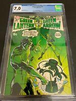 GREEN LANTERN #76 * CGC 7.0 * (DC, 1970)  NEAL ADAMS CLASSIC!!  MEGA-KEY BOOK!!