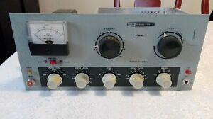 Heathkit Transmitter DX-60B Ham Radio, Works CW, Covers Missing Read Description