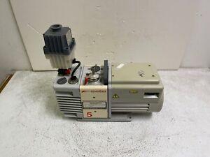 Edwards RV5 Rotary Vane Vacuum Pump A653-01-906 w/ Oil Mist Filter