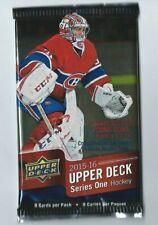 2015-16 UD Series 1 Upper Deck Hockey 1 Pack Retail  8 Cards per Pack