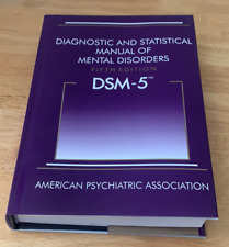New Diagnostic and Statistical Manual of Mental Disorders DSM 5 HARDCOVER