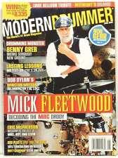 MODERN DRUMMER MAGAZINE MICK FLEETWOOD WINSTON WATSON ERIC MCPHERSON BENNY GREB!