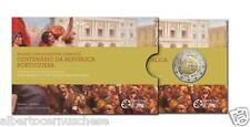 Coincard 2 euro proof Fs BE PP 2010 100 ° della Repubblica Portogallo Portugal