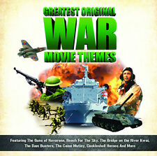CD GREATEST ORIGINAL WAR MOVIE THEMES TIOMKIN ARNOLD NEWMAN STEINER ROTA MANCINI