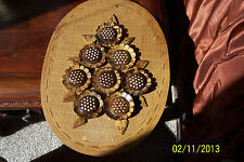 Home Decor Wall Plaque made of Wood Leaves & Flowers