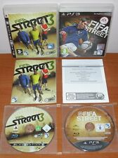 FIFA Street 3 & FIFA Street 2012, EA Sports BIG, PlayStation 3 PS3, Ver.Española