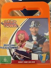 lazy town welcome to lazytown DVD