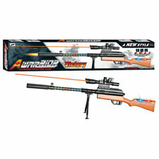 A-Warrior Victory Rifle 96cm Gun Super Soldier Lights & Sounds Toy 3+Years 12033