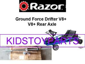 RAZOR GROUND FORCE DRIFTER REAR AXLE VERSION 8+ (AND UP)