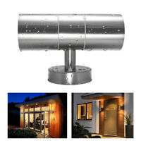 1/2/4pcs 6W Up Down Dual-Head Lamp COB LED Wall Light Sconce Outdoor Waterproof