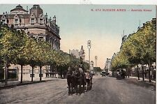 B81435 buenos aires avenida alvear chariot argentina front/back image