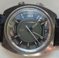Omega Memomatic Alarm Automatic mens wristwatch steel case 40,5 mm. in diameter
