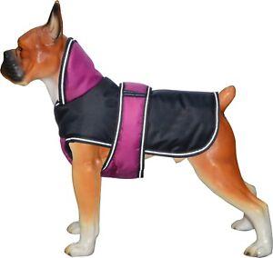 SALE Dog Pet Outdoor Winter Waterproof Rain Coat Jacket Fleece 200GSM