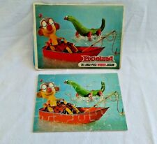 PIXIELAND 20 large piece wooden jigsaw puzzle Boat Fishing sea loch ness monster