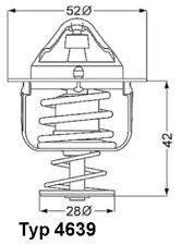 Thermostat für MAZDA 2,3,323 F P S,5,6,626 IV V,B-SERIE,BT-50,CX-5,MPV I II
