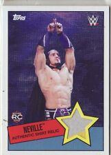 2015 WWE Heritage Neville shirt relic