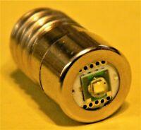 CREE LED E10 1W 4,5V DC Retrofit zu Glühlampe Taschenlampe DDR 4000°K  DHL DE