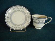Minton Penrose Platinum Trim Cup and Saucer Set(s)