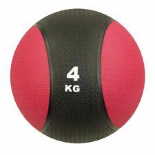 Carnegie MedBall 4 - Medizinball, Fitnessball, Gewichtsball, 4kg, voll gummiert,