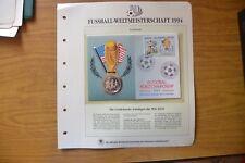 BUSTA FILATELICA MONETA COOK ISLANDS 5 DOLLARI 1991 ARGENTO MONDIALI USA 1994 Y