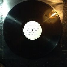 Silver Bullet - ACETATE DUBPLATE UNRELEASED EP