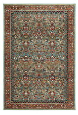 5' x 8' Karastan Machine Woven Area Rug Tigris Aquamarine Multi Traditional