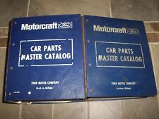1973 Ford Mustang Parts Catalog Manual Set Mach 1 Grande Convertible 5.0L 5.8L