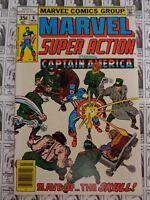 Marvel Super Action (1977) Marvel - #6, Captain America, Stan Lee/Jack Kirby, VF