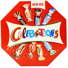 CELEBRATIONS - New Mix - Milk Chocolate Bites Mars Snickers Milky Way Dove Twix